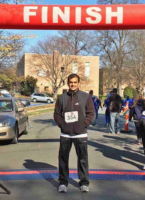Vipul Thakkar at Finish Line