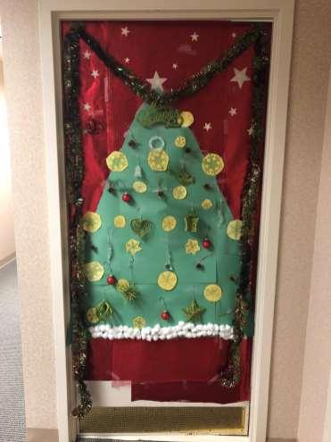 Christmas Door 1
