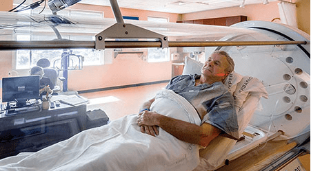 Hyperbaric Oxygenation to Heal a Brain Wound