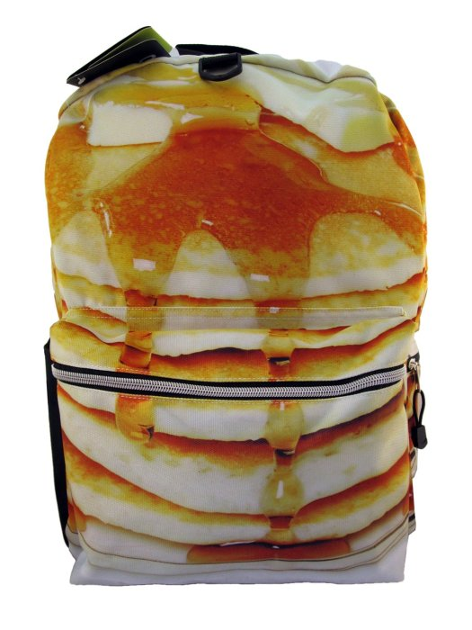The Mojo Pancake Please Backpack is the most delicious backpack in the world