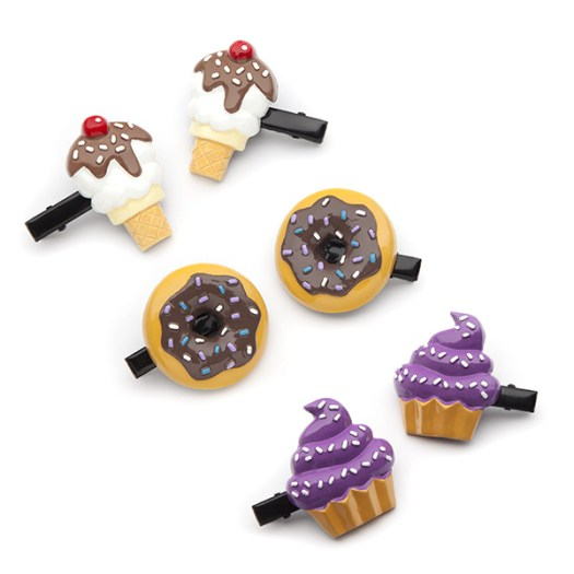 2 ice cream cones + 2 cupcakes + 2 doughnuts = ADORABLE