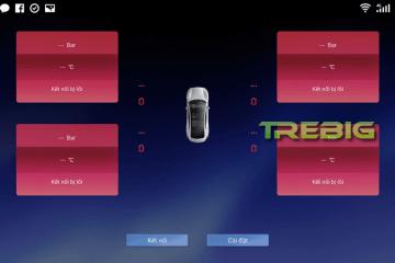 Phần mềm cảm biến áp suất lốp Trebig TPMS Storebao Tiếng Việt 100% 1