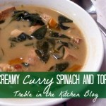 Creamy Curry Spinach and Tofu