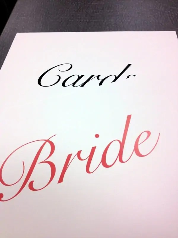 wedding prints