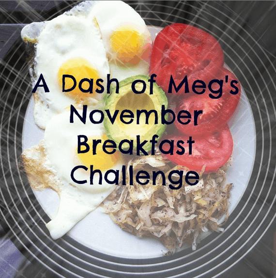 november breakfast challenge