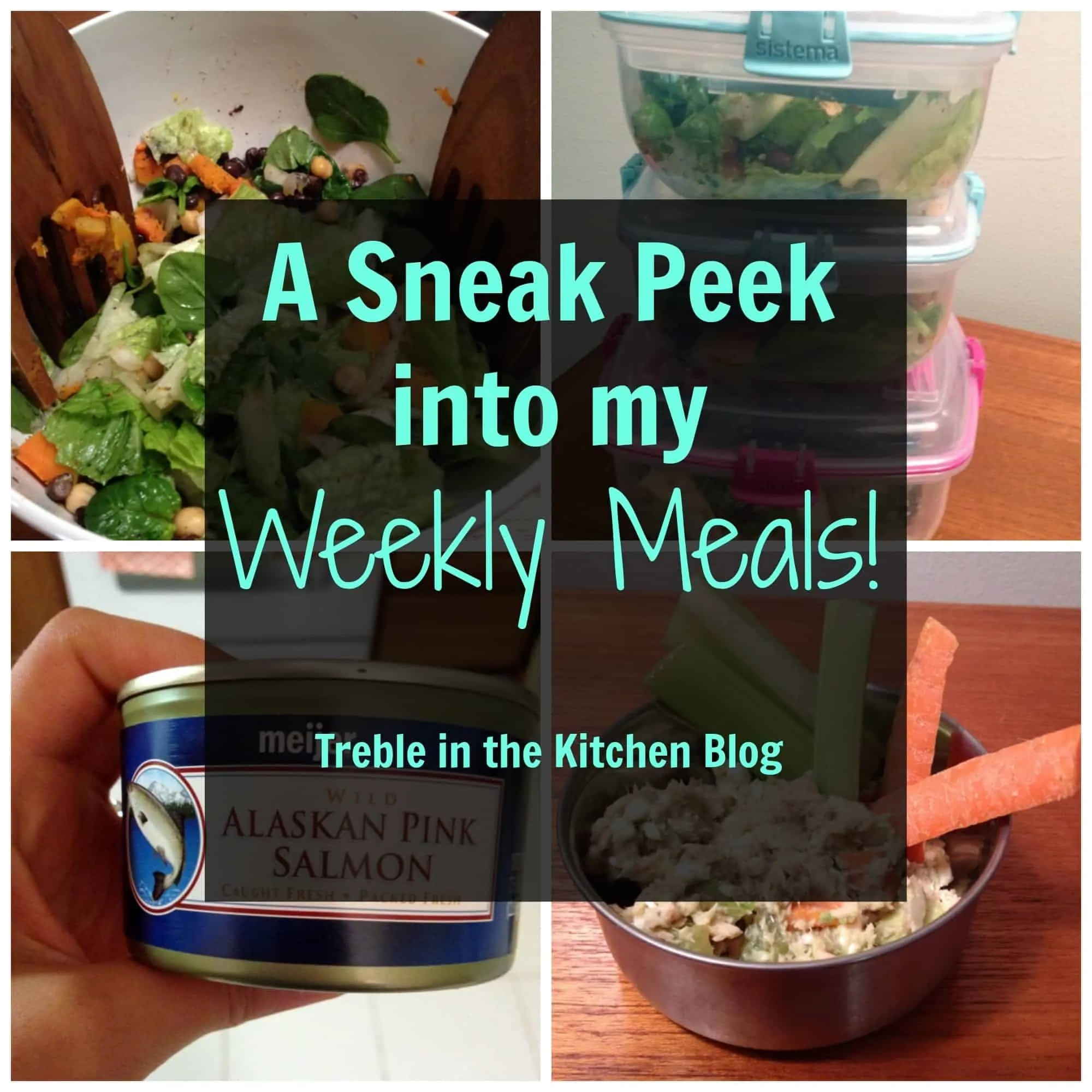 Sneak Peek into Weekly Meals via Treble in the Kitchen
