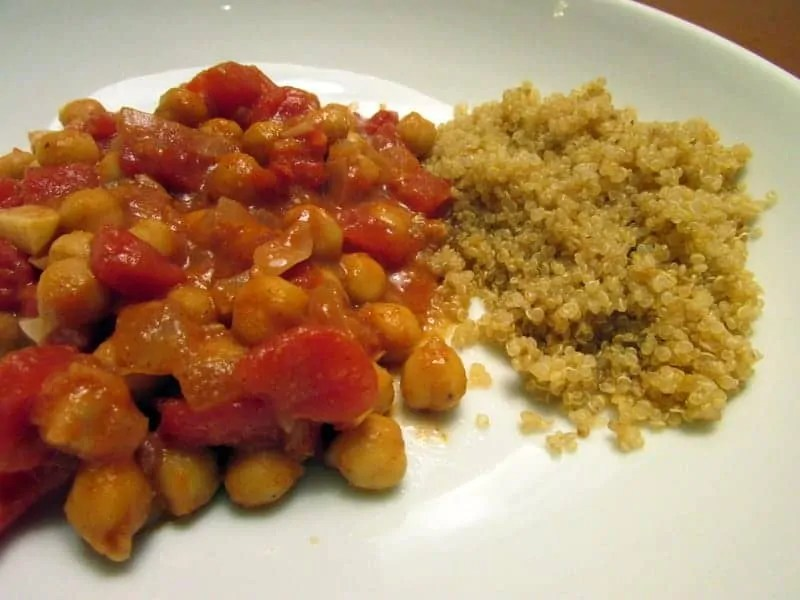 One-Pan Chickpea Curry Masala