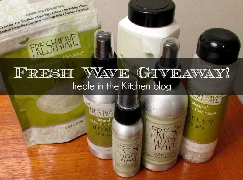 fresh wave giveaway via treble in the kitchen
