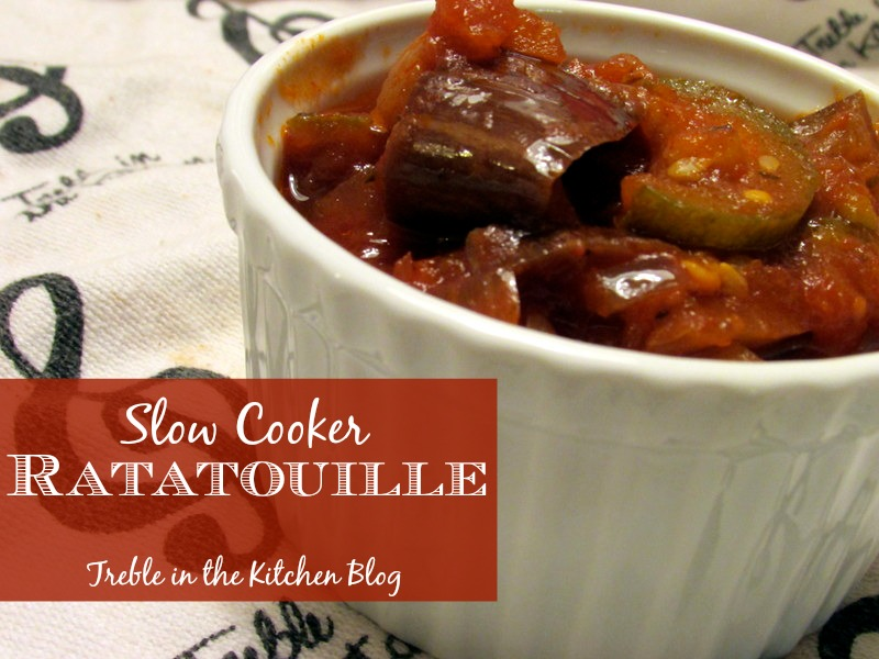 ratatouille via trebleinthekitchen.com