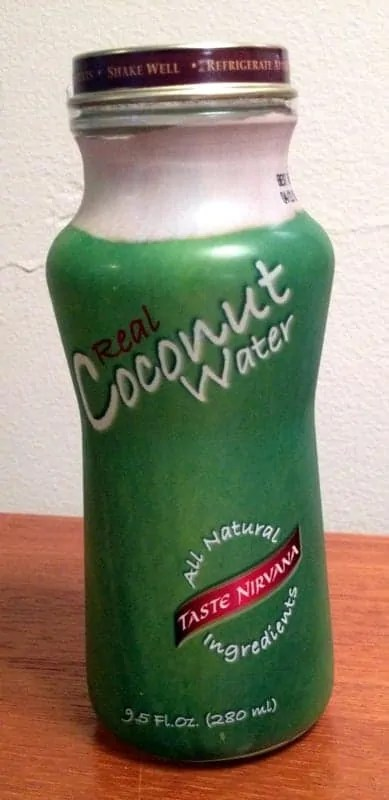 taste nirvana coconut water