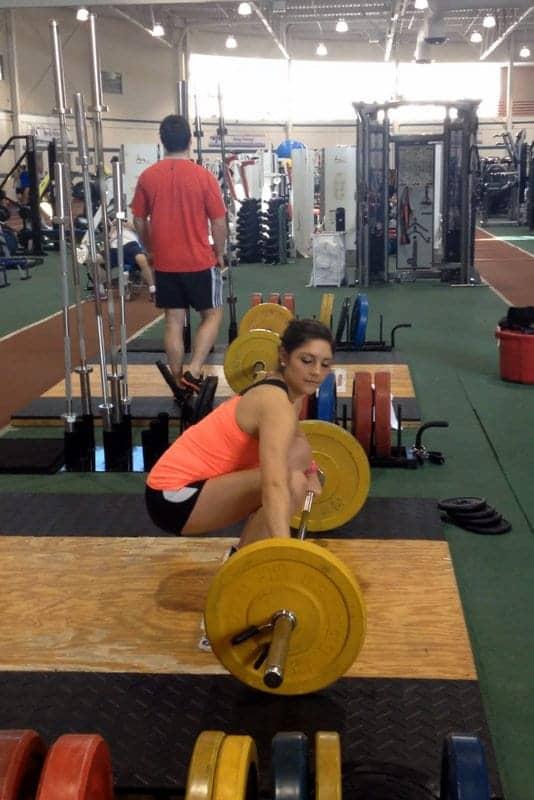 olympic lifting barbell club
