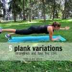 5 Plank Variations