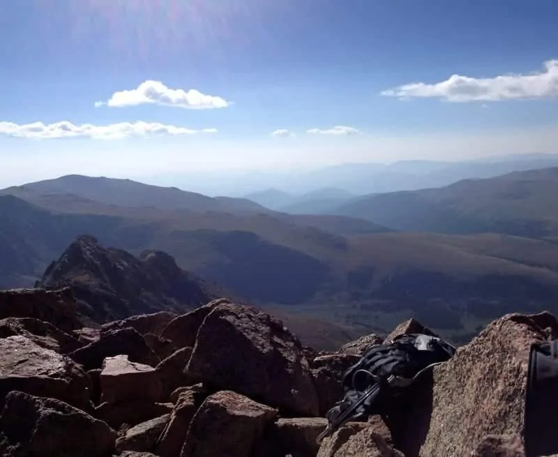 Hiking Mt. Bierstadt