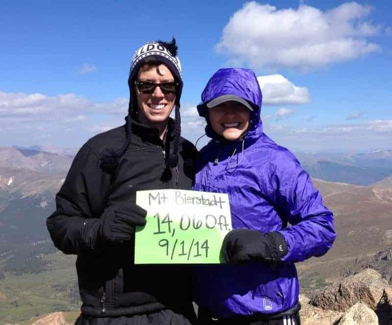 Hiking Mt. Bierstadt