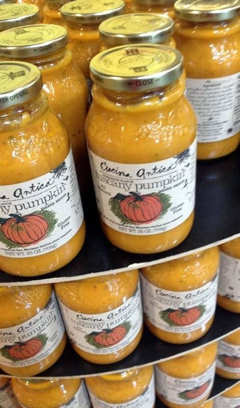 pumpkin sauce