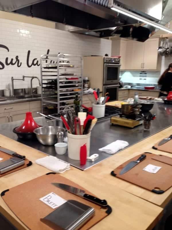 Sur La Table Cooking Class