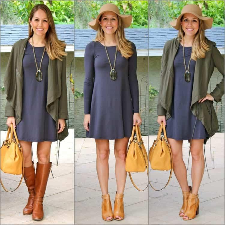 One+Express+gray+dress+x+3