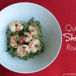 Quinoa Shrimp Risotto {low FODMAP}