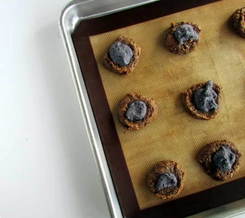 Nutty CocoaVia Cookies via Treble in the Kitchen