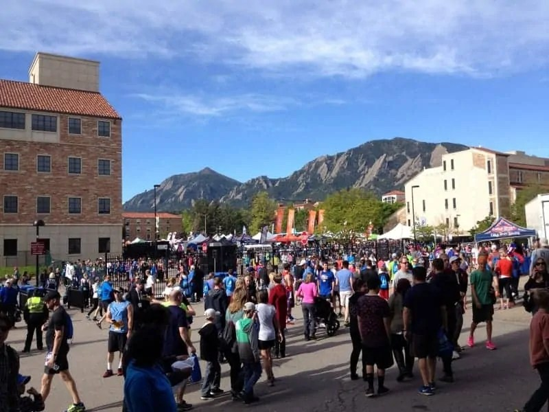 Bolder Boulder 10K via Treble in the Kitchen