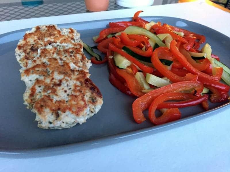 Italian Chicken Burgers via Treble in the Kitchen