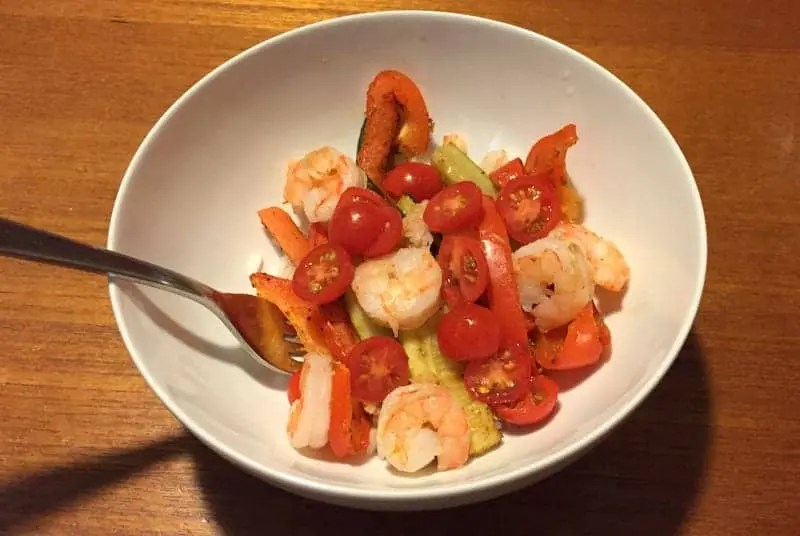 Shrimp Fajita Bowl