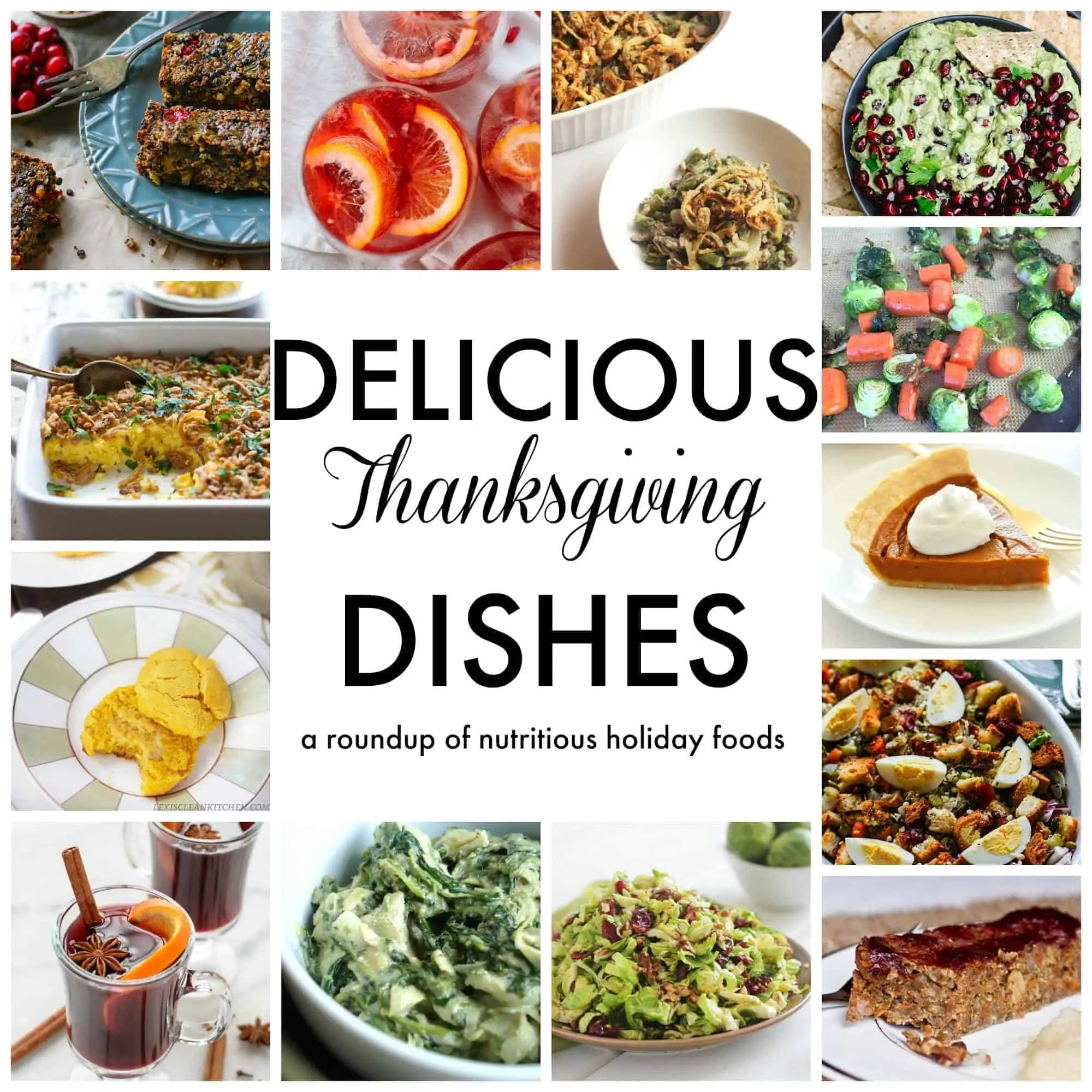 NUTRITIOUS Thanksgiving Dishes from Treble in the Kitchen