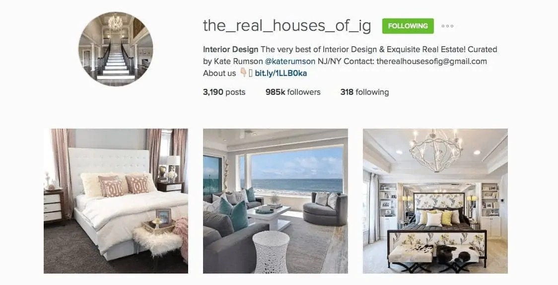 Real Houses of IG Instagram