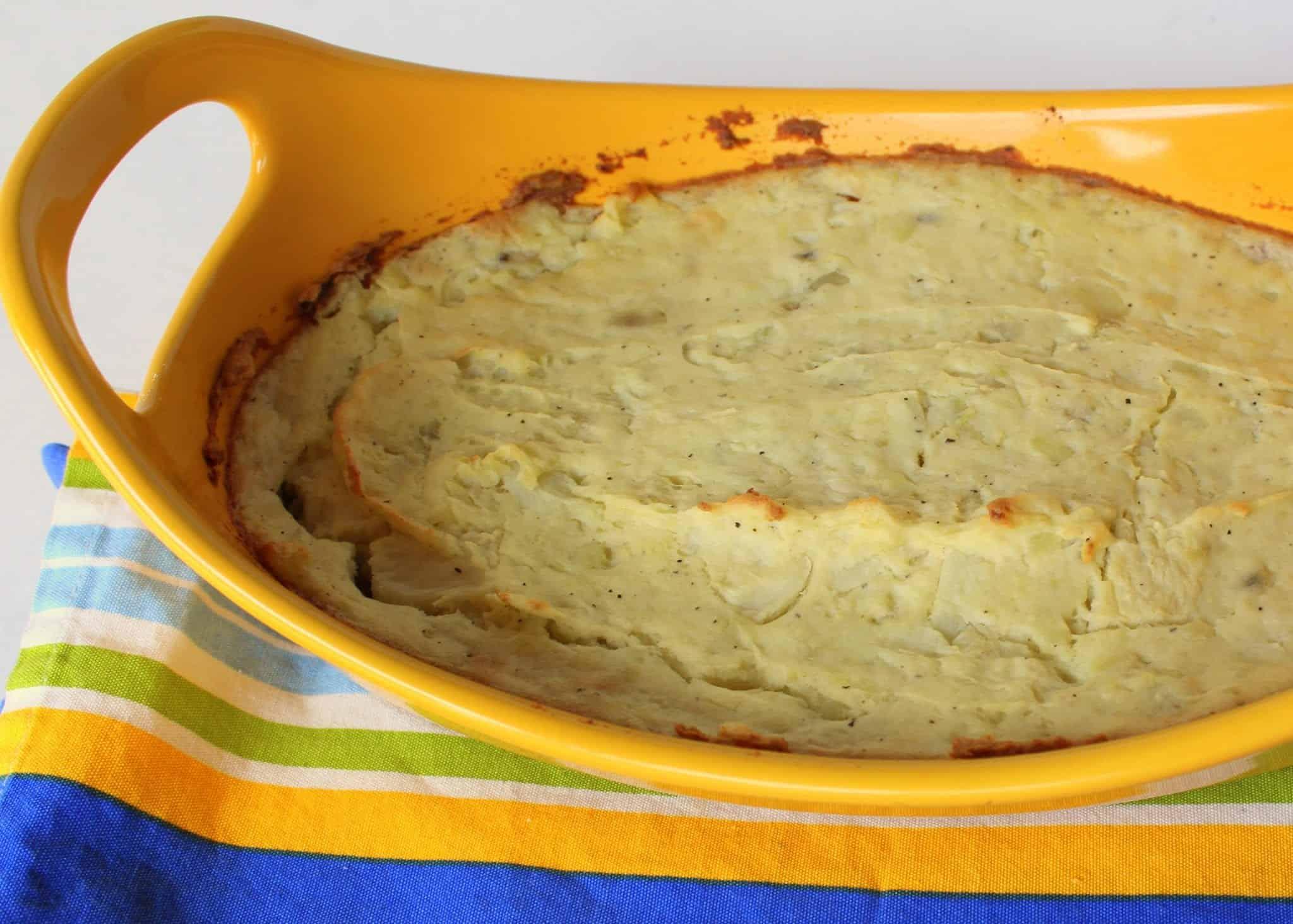 Chicken Lentil Shepherd's Pie from Treble in the Kitchen