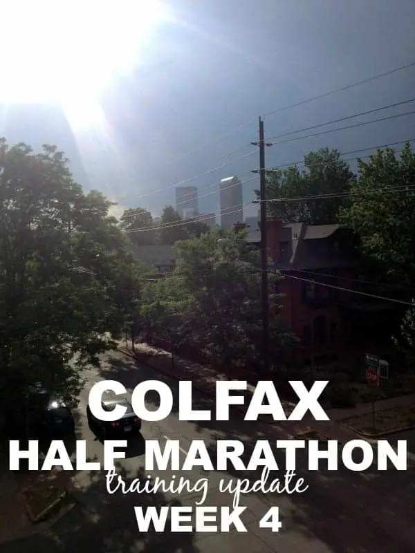 Colfax Half Marathon via Treble in the Kitchen
