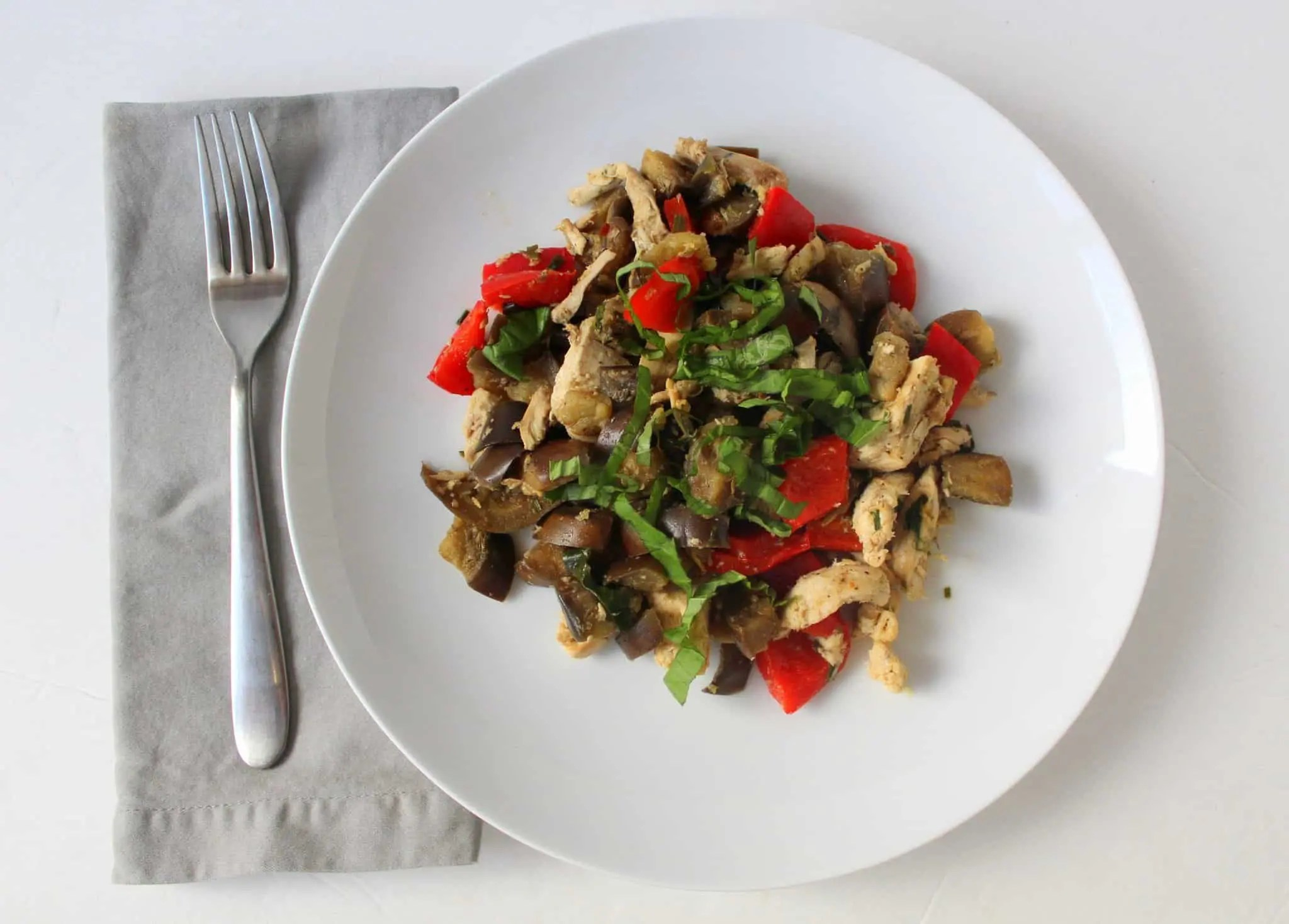 Ginger Basil Stir Fry | Treble in the Kitchen