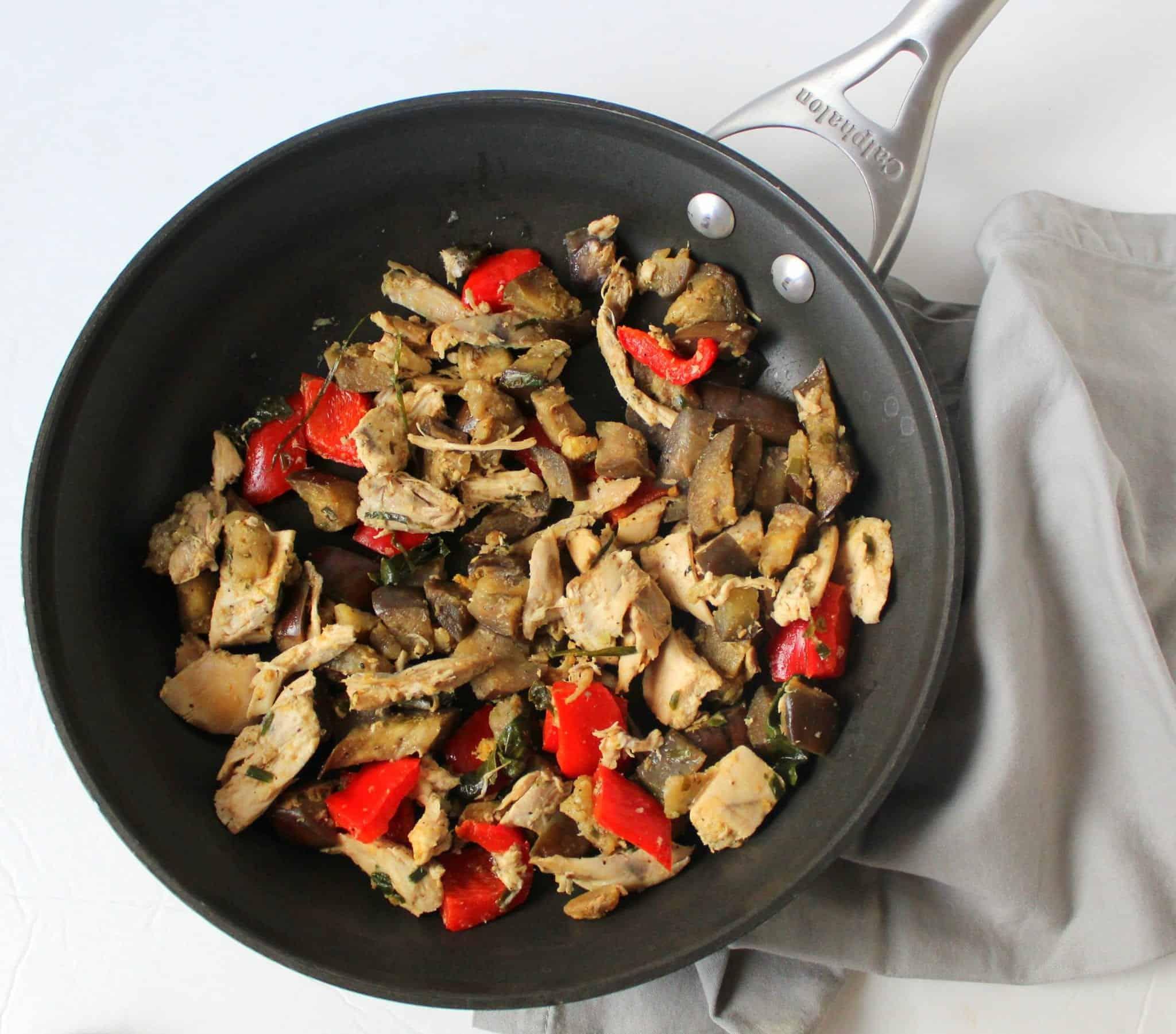 Ginger Basil Stir Fry | Treble in the Kitchen