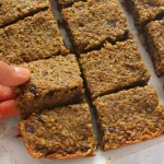Millet Banana Breakfast Bars