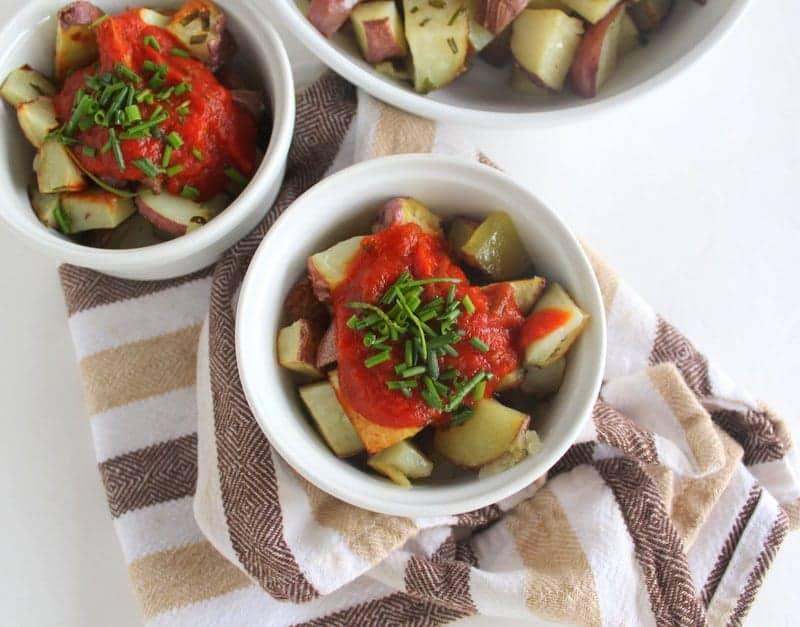 Patatas Bravas low FODMAP | Treble in the Kitchen