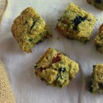 Red and Blue Berry Thyme Zucchini Cornbread + Casual Veggie Cookbook!