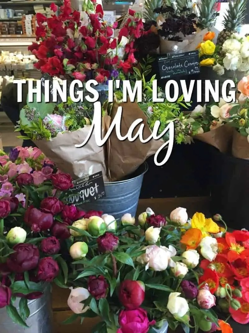 Things I'm Loving May from Treble in the Kitchen