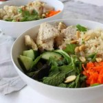 Vietnamese Bowl with Lemongrass Chicken