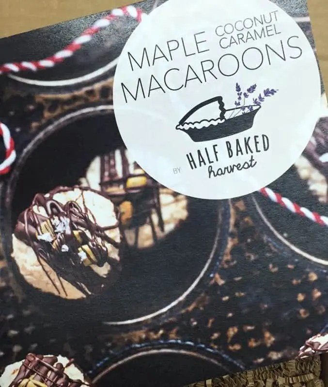 Maple Coconut Macaroons