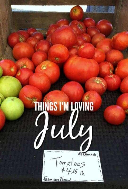 Things I'm Loving July