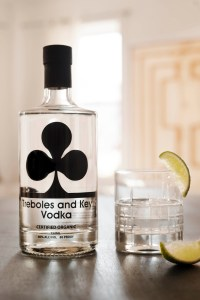 Treboles and Key Organic Vodka made from Organic Potatoes