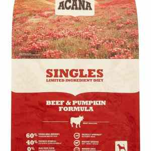 Acana Singles Beef Pumpkin front of bag