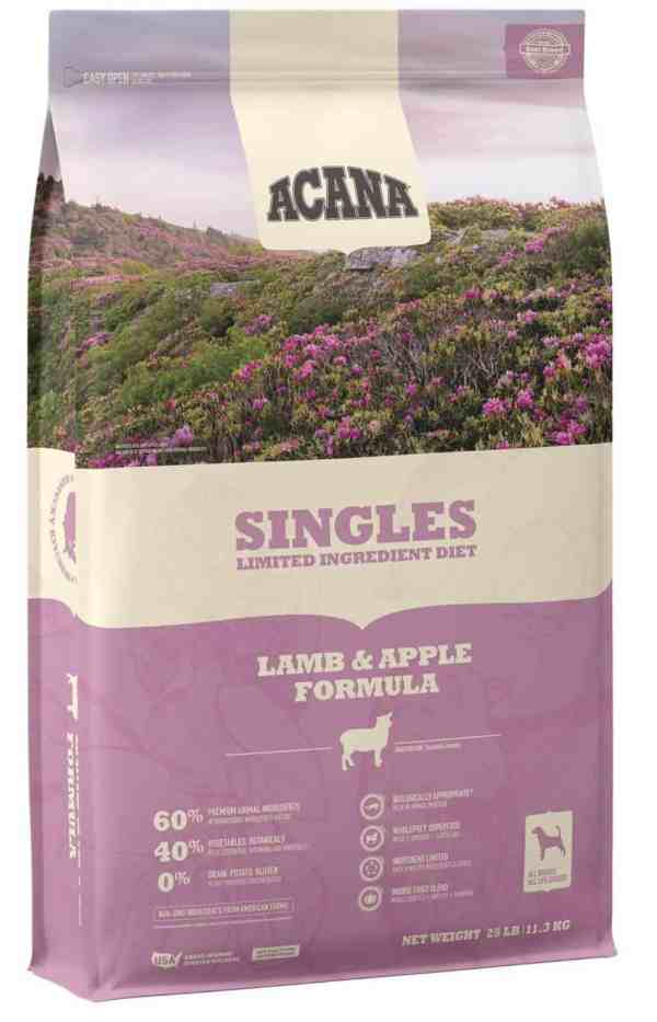 Acana Singles Lamb Apple front of bag