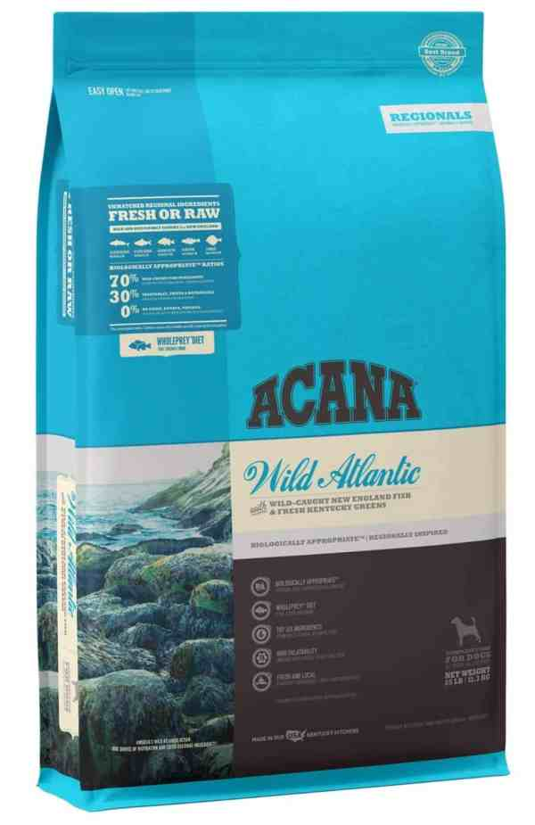 Acana Wild Atlantic for dogs front of bag