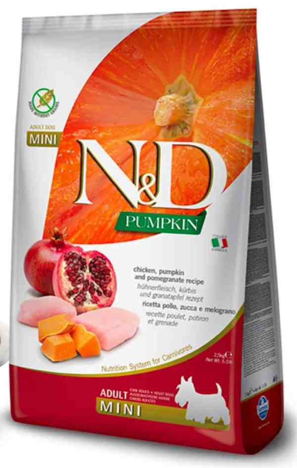 Farmina N&D Chicken Pomegranate Pumpkin Mini