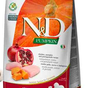 Farmina N&D Chicken Pomegranate Pumpkin Medium Maxi