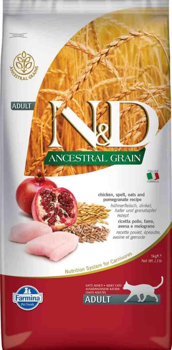 Farmina N&D Ancestral Grain Chicken Pomegranate 11 pound