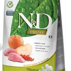 Farmina N&D Boar Apple Medium Maxi 26.5 pound bag
