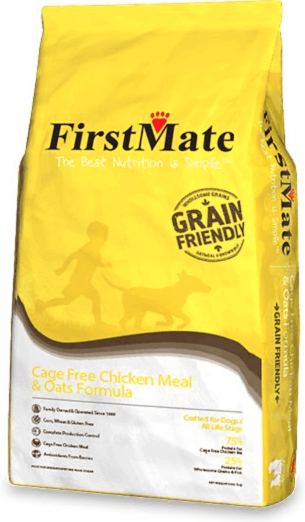 FirstMate Chicken and Oats Front of Bag