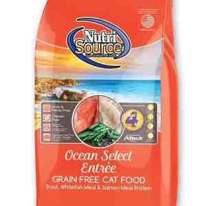 Nutri Source Ocean Select Cat Front of Bag