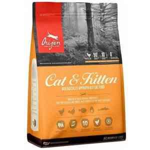 Orijen Cat & Kitten Front of Bag